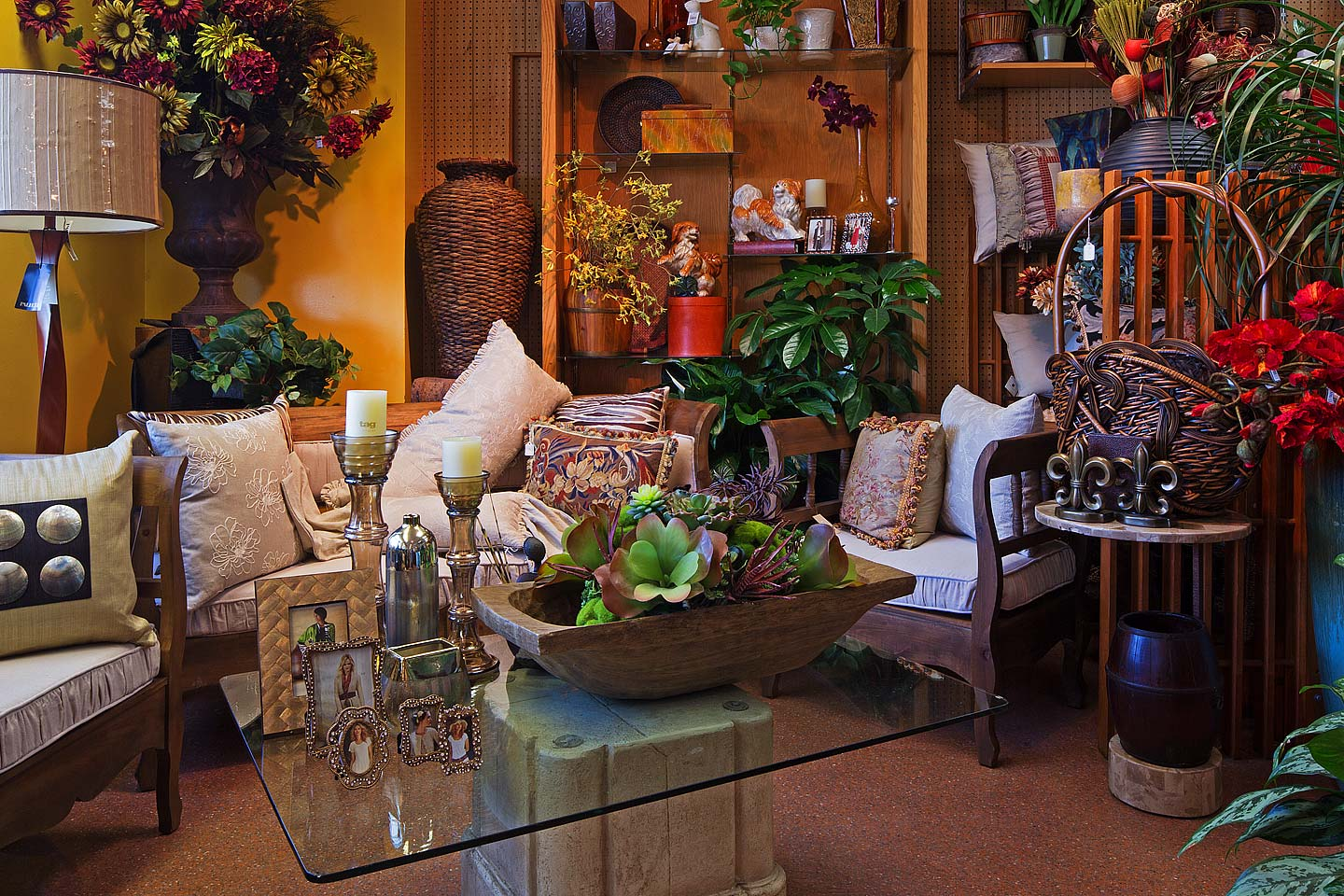 an arrangement of designer home accessories at the antons branch