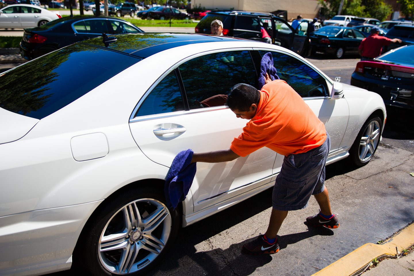 crossroads car wash photography of luxury car by jacob rosenfeld photography