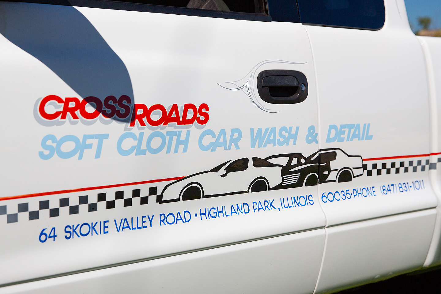crossroads car wash photography of company car by jacob rosenfeld photography